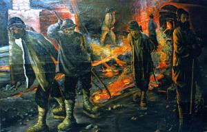 3 Картина в музее Омутнинского металлургического завода Автор Н Карпинская